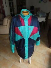 Parka ADIDAS vintage manteau sport entraineur COACH football années 90 T 48
