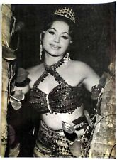 Rare Bollywood Actor Poster - Helen - 12 inch X 16 inch