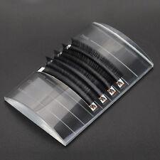 New Crystal Glass U Curved Eyelash Extension Stand Base Holder Pallet False Lash
