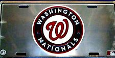 Novelty MLB Chrome license plate Wahington Nationals New aluminum auto tag 1268
