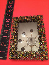 R.J. GRAZIANO PICTURE FRAME RHINESTONE SWAROVSKI CRYSTAL COVERED RARE WORK