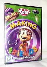 DVD Toby Making Friends Childrens Religious Animated Cartoon Story Jesus Music