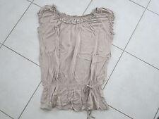 Haut de grossesse beige taille 42/44 La Halle aux vêtements
