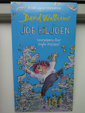 Joe Biljoen - David Walliams - 3cd luisterboek - in seal