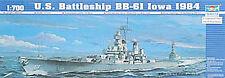 NEW Trumpeter 1/700 U.S.S. Iowa BB61 Battleship 05701
