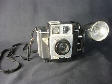 Eastman Kodak Co Color Brownie Twin 20 Camera USA W/ Kodak Supermite Flashholder