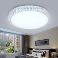Luxus LED Deckenleuchte Lampe Kristall 18W Sternen Himmeleffekt Schlafzimmer