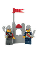 LEGO 9349 Lion Knight Red Sash Neck Protector Helmet Kingdoms cas478 cas479