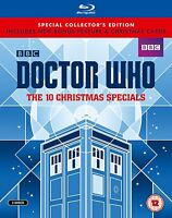 Doctor Who - The 10 Christmas Xmas Specials Limited Ed. [Blu-ray] NUMBERED 4672