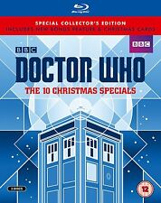 Doctor Who - The 10 Christmas Xmas Specials Limited Ed. [Blu-ray] NUMBERED 4269