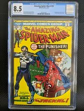 Amazing Spider-Man #129 CGC 8.5 OW/W. Perfect cover wrap!!! (Rare for this book)