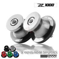 CNC Montageständer Ständeraufnahmen Bobbins für kawasaki Z1000 Z 1000 2003-2013