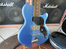 E-Gitarre Supro Jamesport blau metallic selten Serial No. IW17030415 mit Koffer