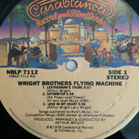 Wright Brothers Flying Machine –  S/T  1978 US Vinyl LP Album Funk / Disco  NM