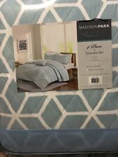 Madison Park Pure Alexa 4 piece Coverlet Set, Full/Queen