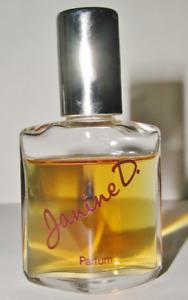 Vintage JANINE D. Muelhens reines Parfum 21 ml Flakon Splash