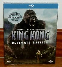 KING KONG-BLU-RAY+DISCO EXTRAS(V.O)-SLIPCOVER-NUEVO-NEW-CASTELLANO-SEALED-**R2**