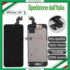 DISPLAU IPHONE 5S ORIGINALE LCD TOUCH SCREEN VETRO SCHERMO COMPLETO +BUTTON NERO
