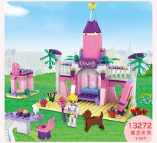 Cogo Dream Princess Fairy Tale Magic world Building block Girl Fiends Model Gift