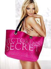 Victoria's Secret Limited Edition 2010 RARE Sparkle Pink Big Bling Tote