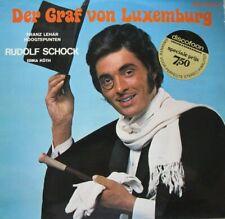 DER GRAF VON LUXEMBURG - RUDOLF SCHOCK - ERIKA KOTH  - LP