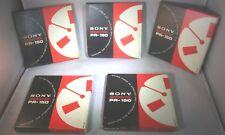 "Reel to reel 7"" Sony PR-150 Professional Recording Tape 1 Box Tape Good Conditio"
