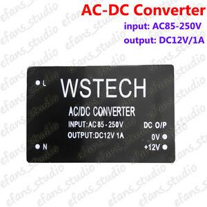 AC-DC Buck Voltage Converter 110V 220V To 12V Step-Down Regulator Power Module