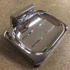 "Proplus Soap Dish Chrome Plated Hidden Screw 4"" Wide x 3"" Deep 553002 Holder"