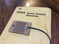 AMT Pack 1 Stock # 2004 Authentic Model Turnpike Vintage Speed Control Rheostat