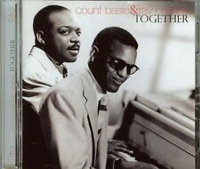 COUNT BASIE & RAY CHARLES - TOGETHER - 2 CD SET - NEW