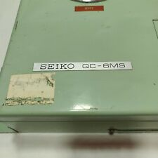 Seiko Marine Master Clock Model : QC-6MS. Made in Japan