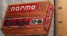 NORMA CARTRIDGES 30-06 PATCH (AMMUNITION, GUNS)