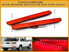 Imported Rear Bumper Led Reflector Tail Brake Warning Light - Toyota Fortuner