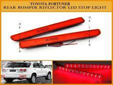 Imported Rear Bumper Led Reflector Tail Brake Warning Light - Toyota Fortuner