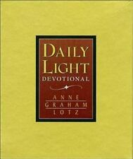 Daily Light Devotional (Tan Leather) by Lotz, Anne Graham