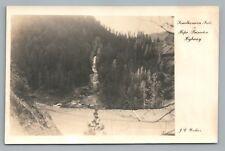 Similkameen Falls BRITISH COLUMBIA Hope—Princeton Highway—Vintage RPPC Photo 40s