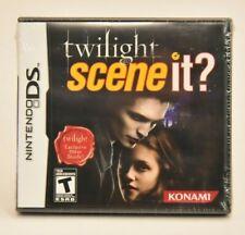 Scene It Twilight (Nintendo DS, 2010) NEW