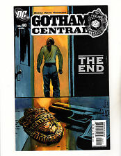 Gotham Central #40 (2006, Dc) Nm- Greg Rucka Jim Corrigan Final Issue!