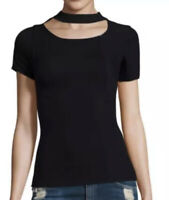 NWT Free People Women's Bright Lights Top Color Black Size M