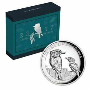 2017 Australian KOOKABURRA 1oz Silver Proof High Relief Coin.
