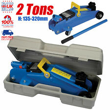 2 Ton Portable Floor Jack Vehicle Car Garage Auto Small Hydraulic Lift With Case