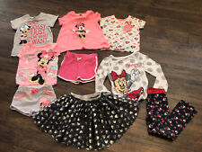 Girls Minnie Mouse Clothing Bundle Age Range 12m-18m/2-3 Years. Good Condition.