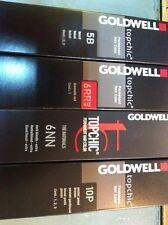 10 x GOLDWELL TOPCHIC HAIR ALL COLOUR 60ML (BIG SALE)
