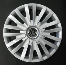 """Volkswagen Golf 6, 5, Polo 5 Style ONE 15"""" Wheel Trim Hub Cap Cover VW 490AT"""