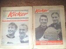 KICKER SONDERHEFT - WM 1954  Fußball-Weltmeisterschaft Original keine Nachdrucke