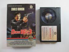 "BETA TAPE ""Death Wish 3"" 1985 MGM/UA Home Video Betamax CHARLES BRONSON Cannon"
