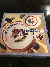 Lenox Dinnerware China Bears for kids, 3 piece set in box