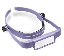 Donegan Purple OptiSight® Binocular Magnifying Visor Set w/3, 4, &5 Power Lenses