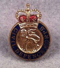 British Civil Defence Corps Lapel Pin Badge 103U