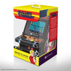 Rolling Thunder Arcade Micro Player Mini Cabinato Arcade Schermo Retroilluminato